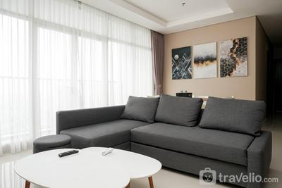 Exquisite 3BR Residence at Ciputra International Apartment By Travelio