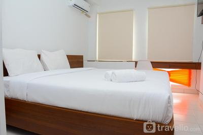 Comfy Studio Room at Patraland Urbano Apartment By Travelio