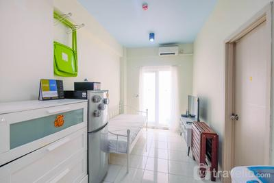 Homey 1BR Apartment @ Grand Center Point Bekasi By Travelio