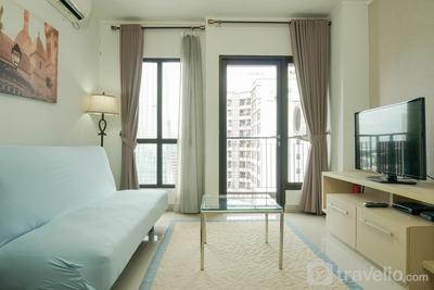 Modern Style 2BR at Tamansari Semanggi Apartment By Travelio