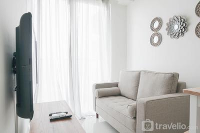 Comfort and Simply 1BR at Sedayu City Suites Apartment By Travelio
