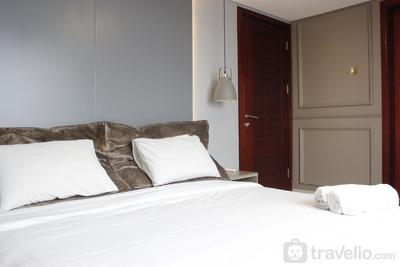 Modern 2BR Apartment at Tamansari Tera Residence Bandung By Travelio