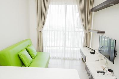 Cozy Minimalist 1BR Saveria Apartment By Travelio