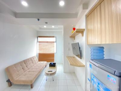 Chaste 2BR Apartment at Grand Asia Afrika Residence By Travelio