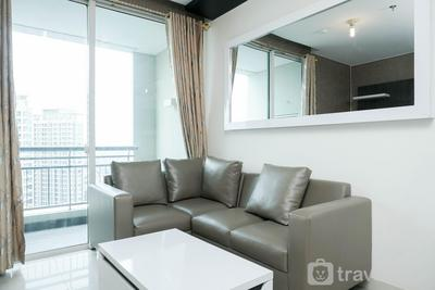 Modern 1BR Apartment at Central Park Residence By Travelio