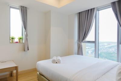 Comfy and Elegant 1BR Branz BSD Apartment By Travelio