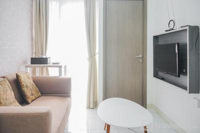 Minimalist 2BR at Emerald Bintaro Apartment By Travelio