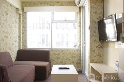 Relaxing and Homey 2BR Apartment at The Jarrdin Cihampelas By Travelio