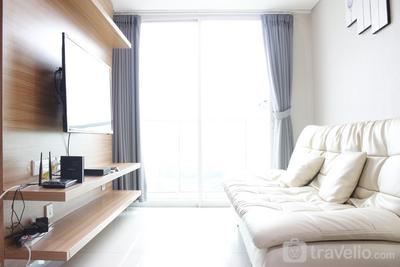 Exquisite 2BR Apartment at Tamansari La Grande near BIP By Travelio