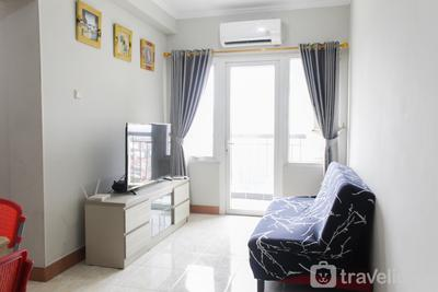 Comfort and Stylish 2BR at Grand Palace Kemayoran Apartment By Travelio