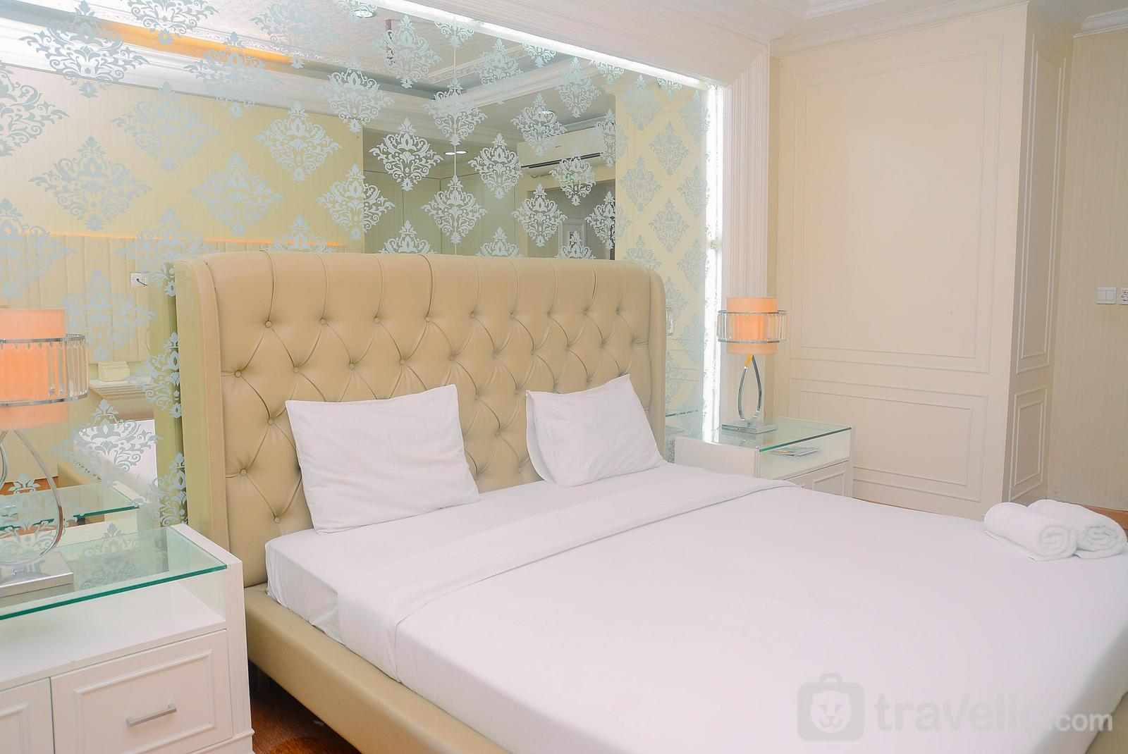 Sahid Sudirman Residence - Furnished with Luxury Design 2BR Sahid Sudirman Apartment By Travelio