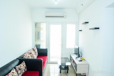 Strategic 2BR City View Grand Palace Kemayoran Apartment By Travelio