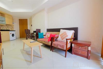 Relaxing 2BR at The Mansion Kemayoran Apartment By Travelio