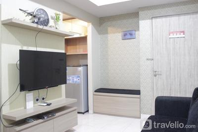 Relaxing & Stylish 1BR Apartment at Newton Residence with Mountain View By Travelio