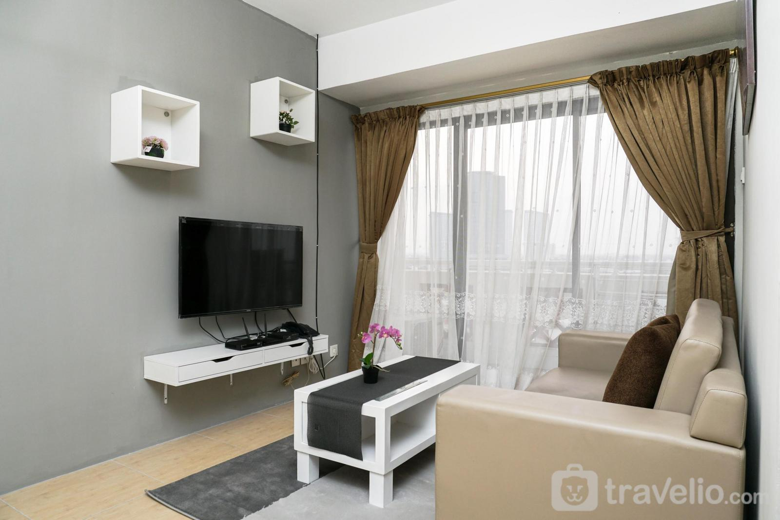 Apartemen Puri Garden - Spacious and Comfortable 2BR Puri Garden Apartment By Travelio