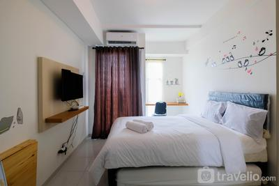 Cozy Studio Apartment at Akasa Pure Living BSD By Travelio