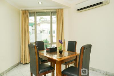 Spacious 1BR Apartment at Mitra Oasis Senen By Travelio