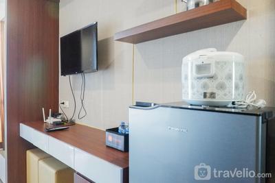 Modern Studio Apartment at Tamansari Papilio By Travelio