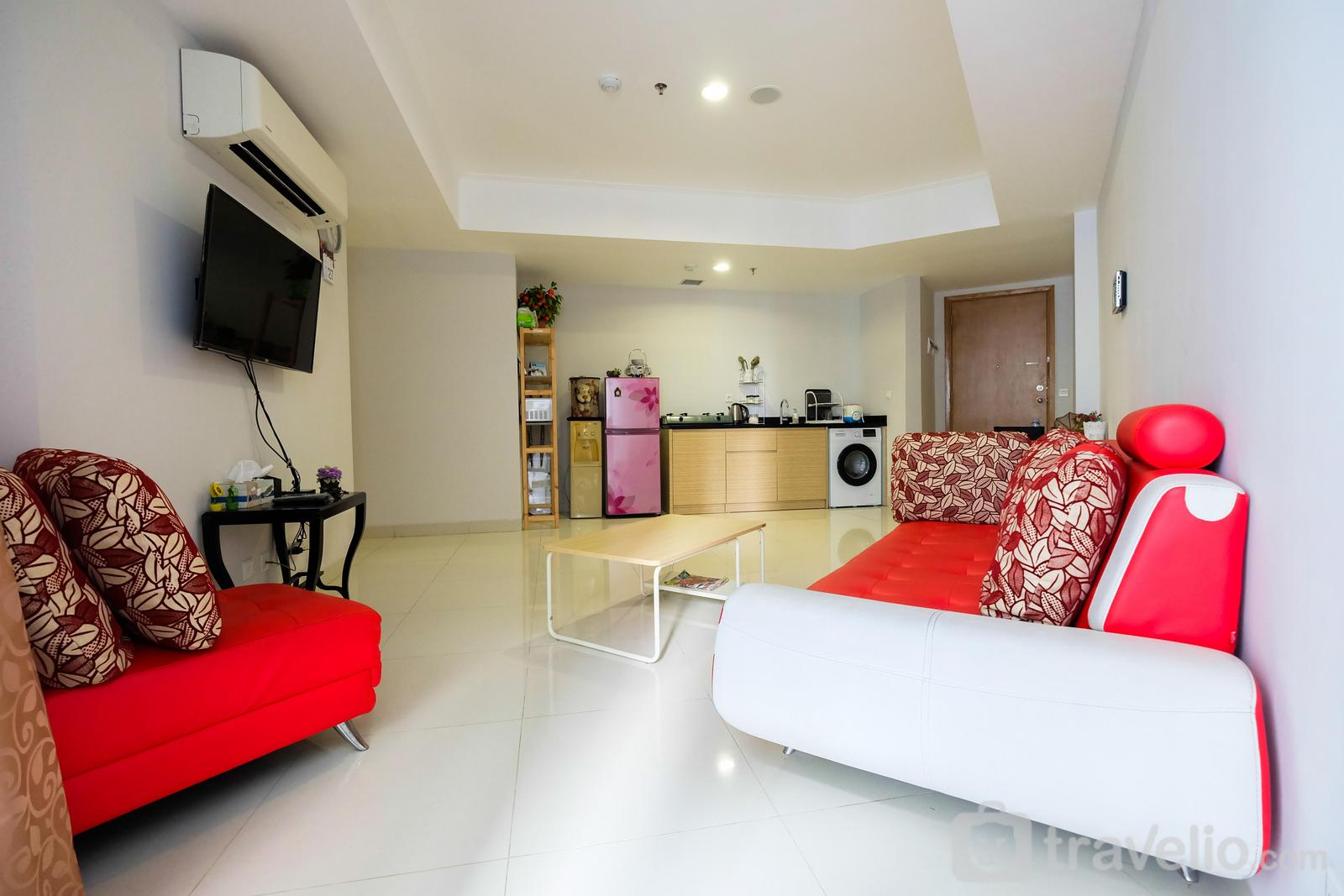 The Mansion Kemayoran - Spacious 2BR The Mansion Apartment near JIEXPO By Travelio