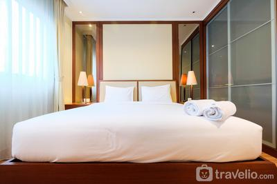 Cozy 2BR Apartment at Sahid Sudirman Residence By Travelio