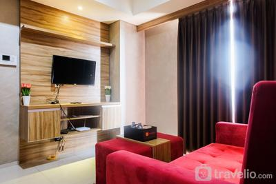 Modern Furnished 1 BR @ The Accent Condominium Apartment By Travelio
