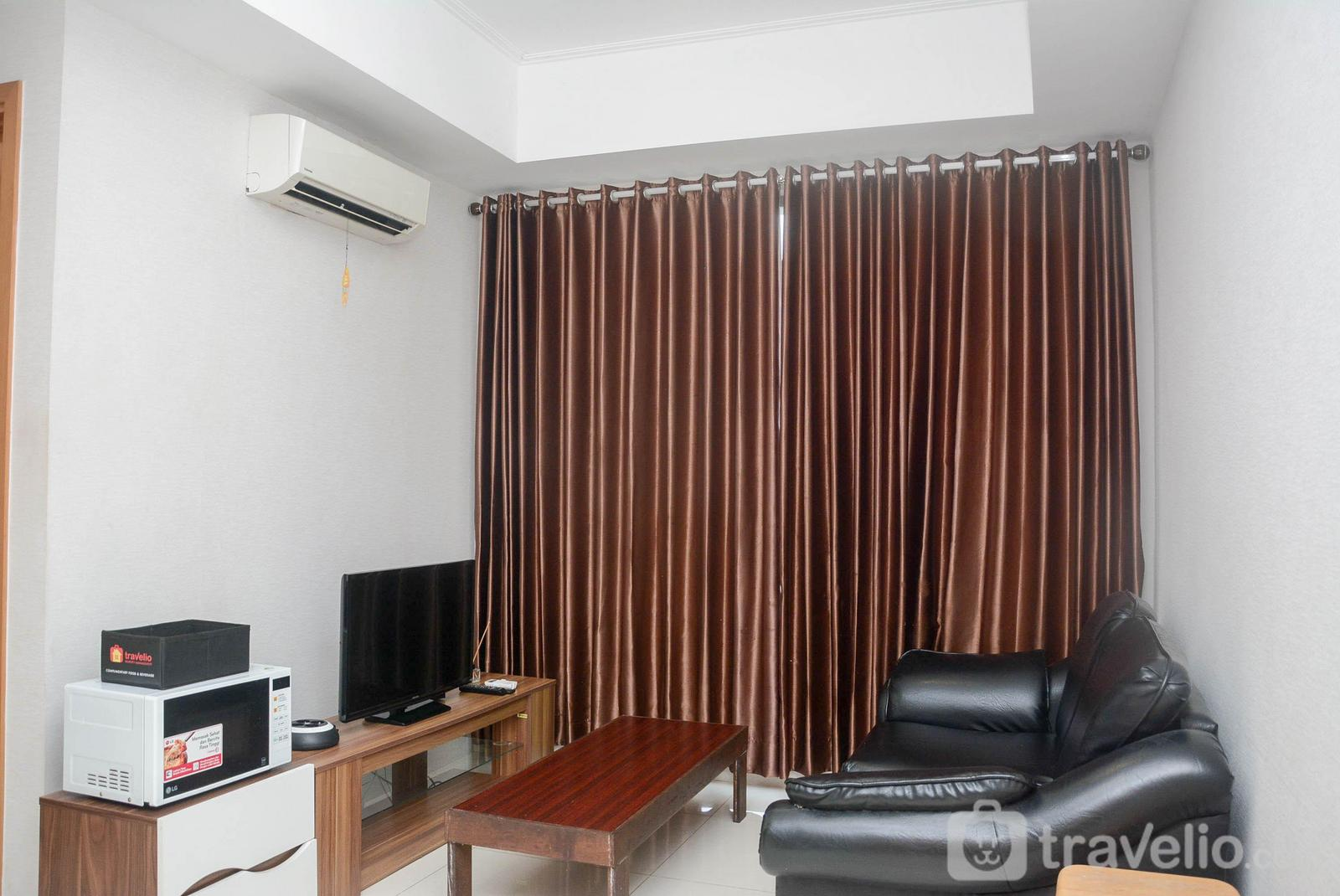 Apartemen The Mansion Kemayoran - 2BR The Mansion Emerald Kemayoran Apartment with Golf & City View By Travelio