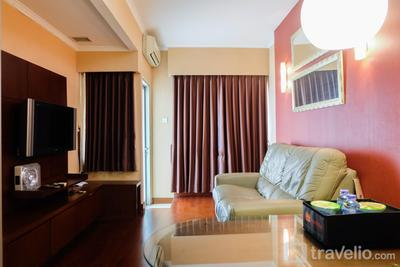Great Location Sudirman Park 2BR Apartment By Travelio
