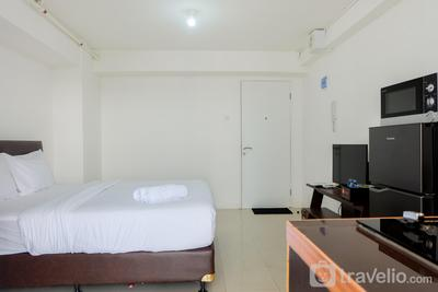 New Studio at Bassura City Apartment near Shopping Mall By Travelio