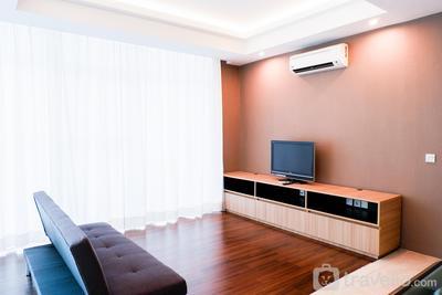 Spacious 2BR Apartment at Satu8 Residence By Travelio