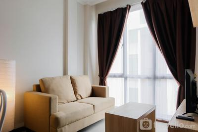 Homey and Simple 1BR at Asatti Apartment By Travelio