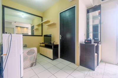 Homey 2BR with City View Pancoran Riverside Apartment By Travelio