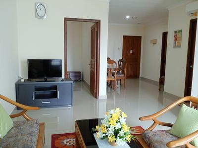 Homy 2BR Apartment With City View @ Sejahtera Apartment By Djogja Homy