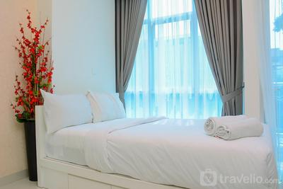 Best Location and New Furnished @ Studio Capitol Park Residence Apartment By Travelio