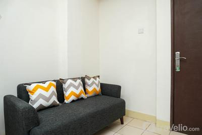 Simply Furnished 2BR Apartment at Puri Park View By Travelio