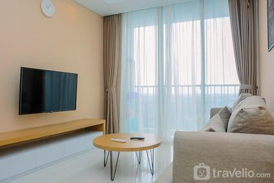 New Furnished 1BR at Lexington Residence Apartment By Travelio