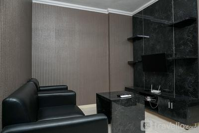 2BR at City Resort Apartment near Airport Soetta By Travelio