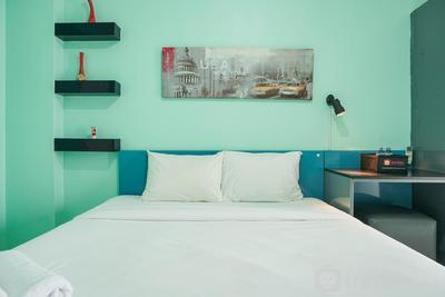 Furnished Studio at Green Palace Kalibata Apartment near Public Transportation By Travelio