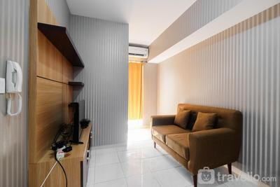 Relaxing 2BR Apartment at The Springlake Summarecon By Travelio
