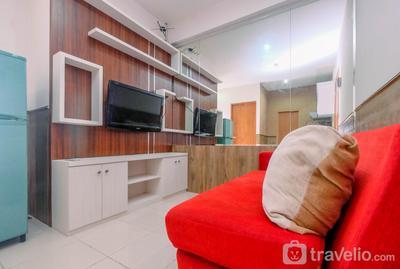 Minimalist & Comfy 2BR @ Titanium Square Apartment By Travelio