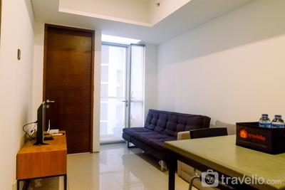 Strategic 1BR Apartment The Linden Connected to Marvell City Mall By Travelio