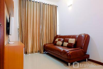 1BR Sea View Condominium at Green Bay Pluit Apartment By Travelio