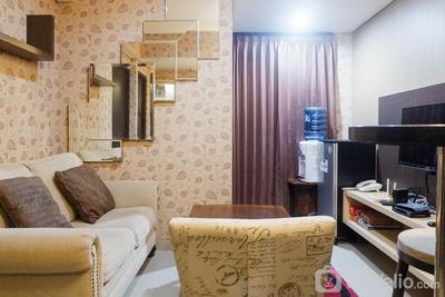 Minimalist 2BR  Apartment at Tamansari Papilio By Travelio