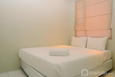 Homey Minimalist Studio Apartment at Menteng Square By Travelio