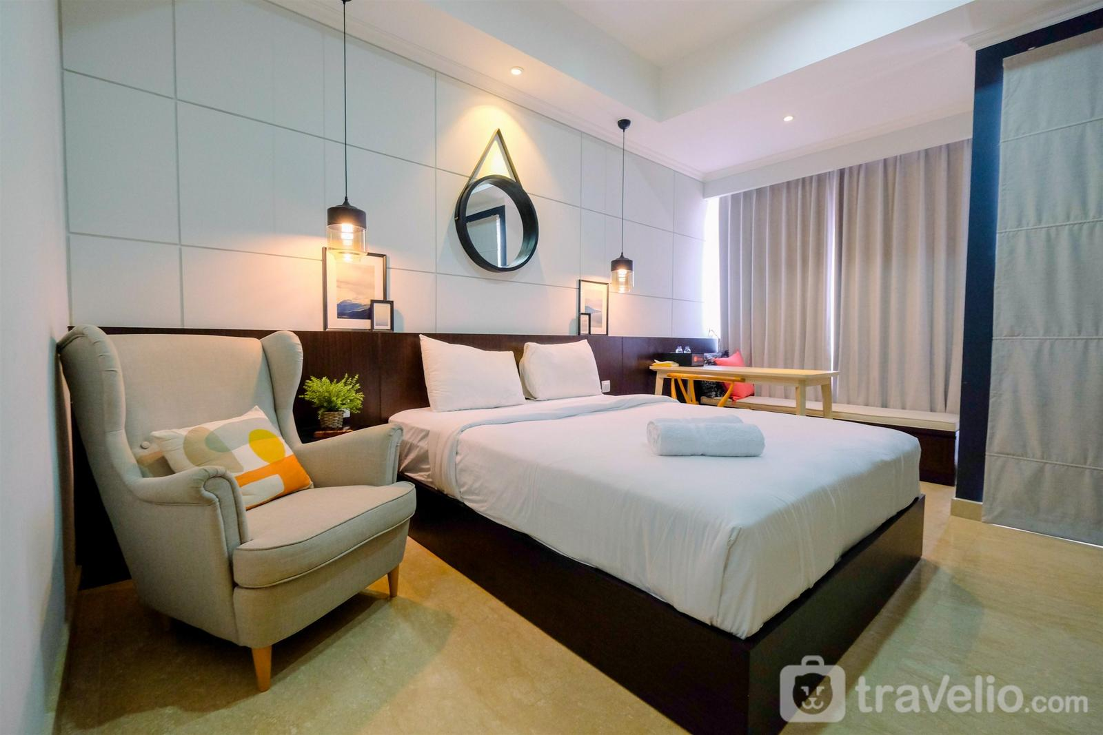 Menteng Park Apartment - Modern Look Studio at Menteng Park Apartment By Travelio