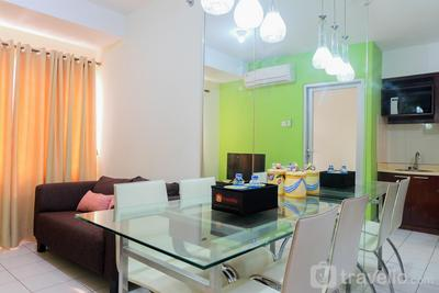 2BR Apartment at The 18th Residence Taman Rasuna By Travelio