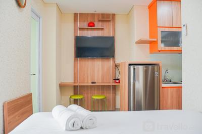 New Furnished with City View Studio Apartment @ B Residence By Travelio