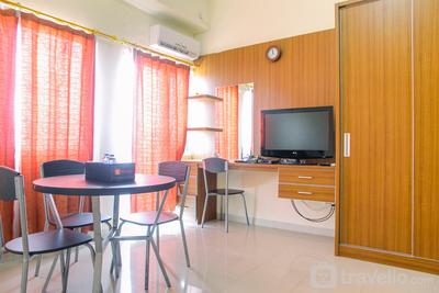 Spacious Studio Room @ Park View Condominium Apartment By Travelio