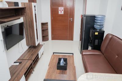 Homey 2BR Apartment Vittoria Residence By Travelio