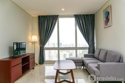 Cozy 2BR @ The Empyreal Condominium Epicentrum Apartment By Travelio