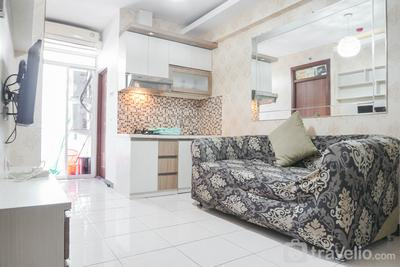 Simply and Cozy 2BR at Pluit Sea View Apartment By Travelio